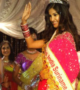 Fareisa Joemmanbaks:  Miss India Worldwide 2007